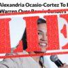 daily wire says aoc endorse warren